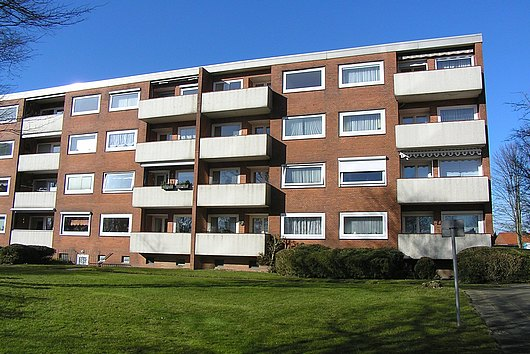 Vermietete, sehr gepflegte Eigentumswohnung in Kiel-Ellerbek, im 3. OG
