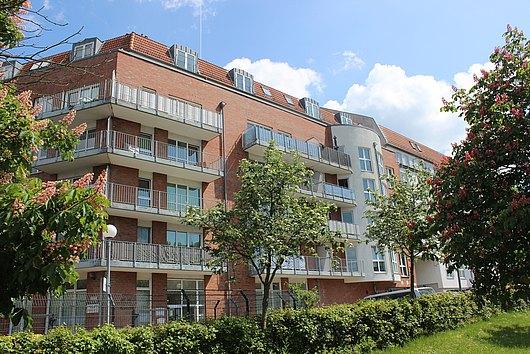 Eigentumswohnung mit Balkon und TG-Stellplatz in Kiel-Gaarden