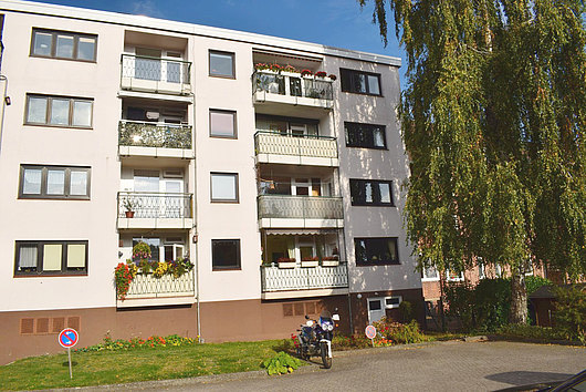 Sehr gepflegte, vermietete 3-Zimmer-Eigentumswohnung in Kiel-Hassee