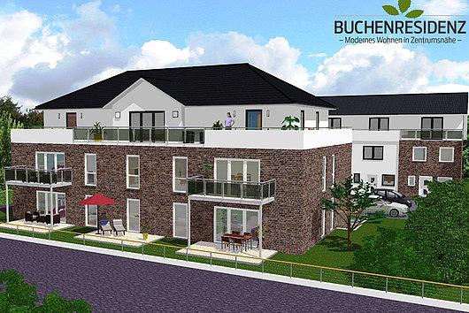 Buchenresidenz mit 8 Neubau-Eigentumswohnungen in Kiel-Kronsburg