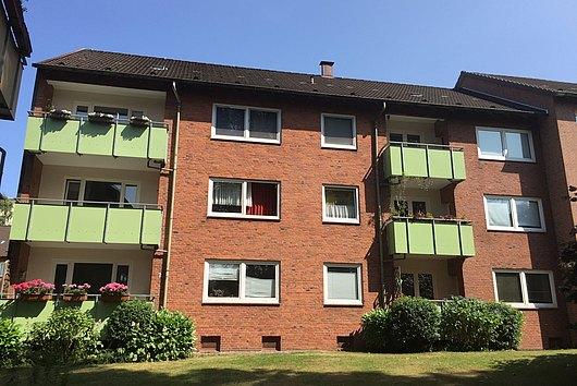 Solide, teilmodernisierte 3-Zimmer-Eigentumswohnung in ruhiger Lage von Kiel-Wik