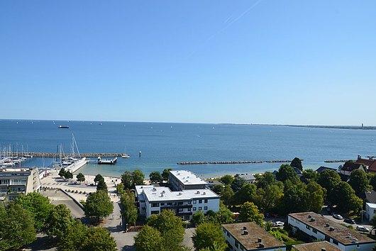 Förde und Ostsee voraus - ETW mit Panoramablick in Schilksee