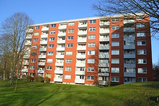 Ganz nach oben - sonnige 3-Zimmer-ETW in zentraler Lage von Kiel-Südfriedhof