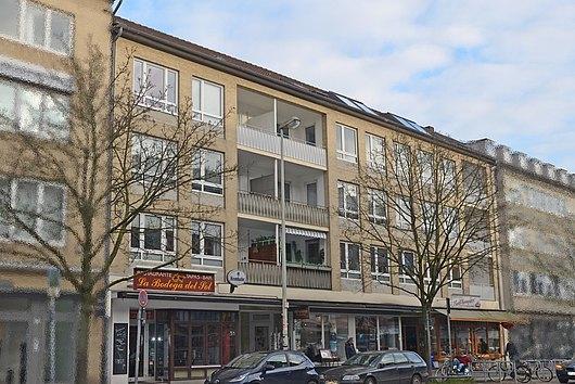 Wohn- und Geschäftshaus in gefragter Lage des Kieler Zentrums