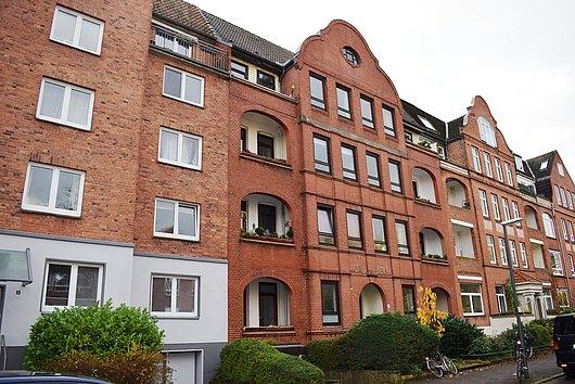 3-Zimmer-Eigentumswohnung am Schrevenpark mit Balkon und Terrasse