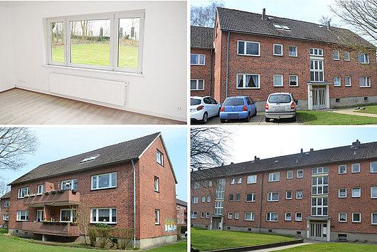 11 Mehrfamilienhäuser mit Ausbaureserven in ruhiger, zentraler Lage von Eckernförde