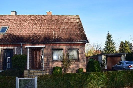 Kleine Doppelhaushälfte in sehr ruhiger und sonniger Lage von Kronshagen