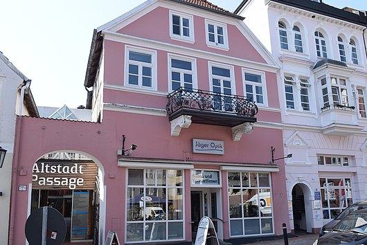 Vermietetes Ladenlokal über 2 Ebenen mitten in der Innenstadt von Rendsburg