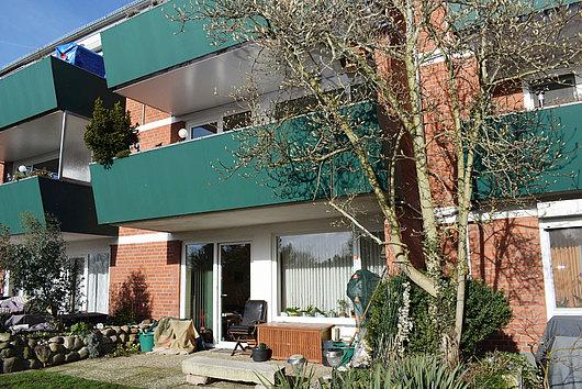 Maisonette-Eigentumswohnung mit Balkon und Terrasse in Neumühlen/Dietrichsdorf