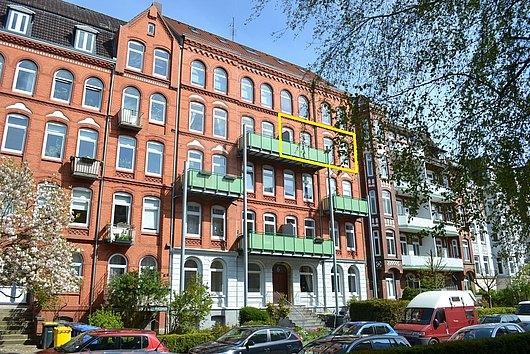 Am Ziel Ihrer Lagewünsche - sonnige 3-Zimmer-ETW in der Steinstraße