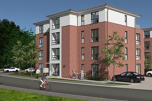 Beletage - 4-Zimmer-ETW mit Balkon, Lift und Stellplatz