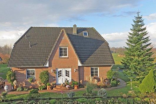 Exzellentes Einfamilienhaus an der Treene in der Holländerstadt Friedrichstadt