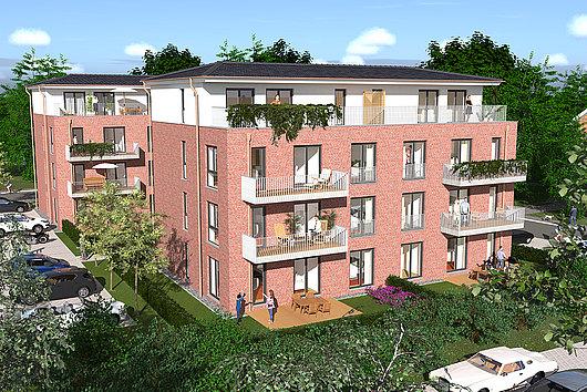 Rammsee - komfortables Wohnen mit Aufzug und Dachterrasse