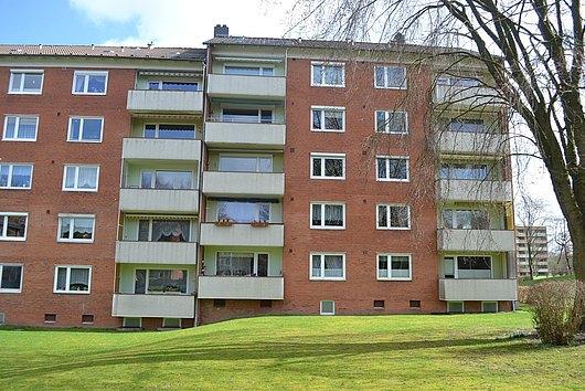 Sehr gepflegte, sonnige 4-Zimmer-ETW in ruhiger und grüner Innenlage von Kiel-Dietrichsdorf