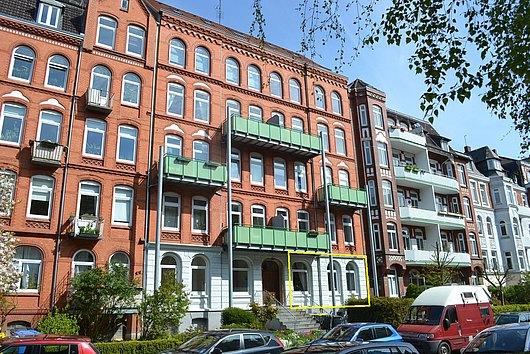 Zwischen Blücherplatz und Ravensberg - sofort freie 3-Zimmer-Wohnung
