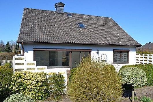 Solides Einfamilienhaus in ruhiger und sehr zentraler Lage von Nortorf