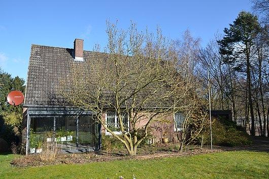 Einfamilienhaus in Mielkendorf mit großem Grundstück und Blick auf die Eiderwiesen