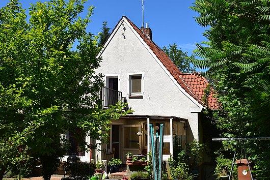 Kleines Einfamilienhaus im Grünen nahe der Innenstadt von Lüneburg
