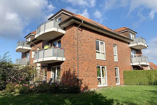 Top gepflegte 2-Zimmer-Eigentumswohnung im 1. OG in Flintbek